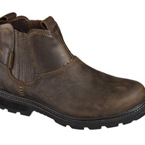 Skechers Men's Blaine Orsen Ankle Boot,Dark Brown