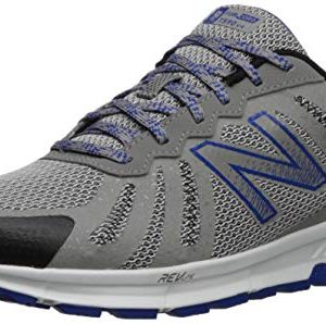 New Balance Men's 590v4 FuelCore Trail Running Shoe rain Cloud/Team Royal/Black 9.5 D US