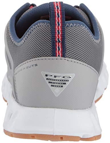Columbia PFG Men's Megavent II PFG Water Shoe, Ti Grey Steel/Carbon Columbia PFG Men's Megavent II PFG Water Shoe, Ti Grey Steel/Carbon, 9 Regular US.
