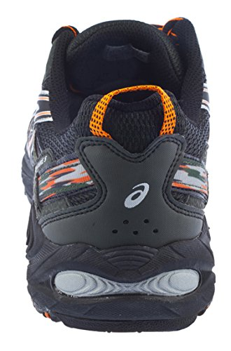 ASICS Men's Gel Venture 5 Running Shoe (12 D(M) US, Black/Shocking Orange/Duffel Bag) ASICS Men's Gel Venture 5 Running Shoe (12 D(M) US, Black/Shocking Orange/Duffel Bag)