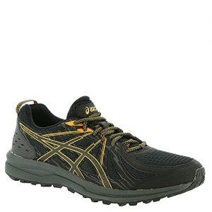 ASICS Men's Frequent Trail Running Shoe, Black/Black