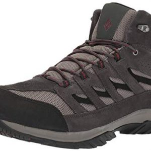 Columbia Men's Crestwood Mid Waterproof Hiking Boot, Breathable