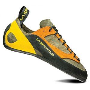 La Sportiva Finale Climbing Shoe, Brown/Orange