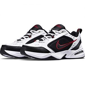 Nike Men's Air Monarch IV Cross Trainer, White/Black