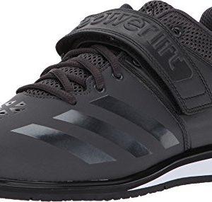 adidas Men's Powerlift.3.1 Cross-Trainer Shoes, Utility Black/White, ((9.5 M US)