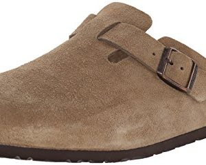 Birkenstock Boston, Taupe Suede