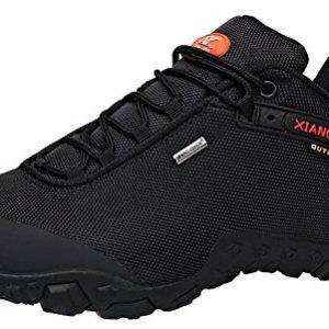 XIANG GUAN Men's Outdoor Low-Top Oxford Lightweight Trekking Hiking Shoes