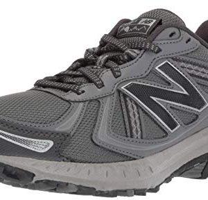 New Balance Men's Cushioning Trail Running Shoe, Castlerock/Phantom