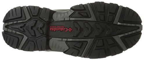 Columbia Men's Bugaboot Plus III Omni Cold Weather Boot Columbia Men's Bugaboot Plus III Omni Cold Weather Boot, Charcoal/Bright Red, 10.5 D US.
