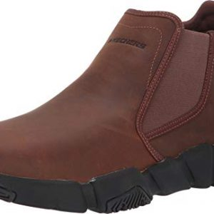 Skechers Relaxed Fit Rolden Warton Mens Chelsea Boot Dark Brown