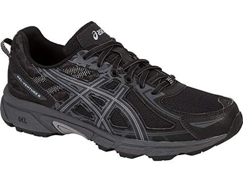 ASICS Mens Gel-Venture 6 Running Shoe, Black/Phantom/Mid Grey ASICS Mens Gel-Venture 6 Running Shoe, Black/Phantom/Mid Grey, 11.5 Medium US.