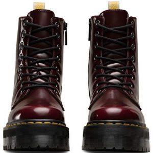 Dr Martens Unisex Jadon Vegan Quad Cambridge Brush Boots
