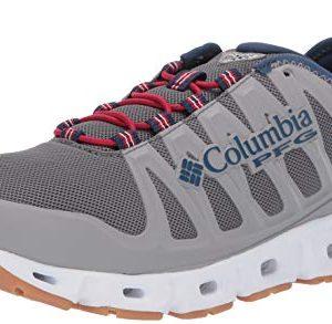 Columbia PFG Men's Megavent II PFG Water Shoe, Ti Grey Steel/Carbon
