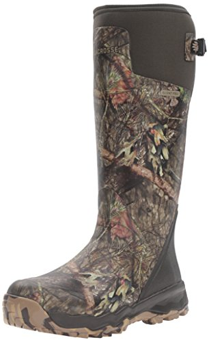 "LaCrosse Men's Alphaburly Pro 18"" Hunting Shoes, Mossy Oak Break up Country, 10 M US"