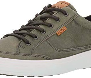 ECCO Men's Soft Fashion Sneaker, Wild Dove grey