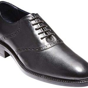 Cole Haan Men's Buckland Saddle OX Oxford, Black