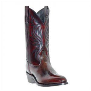 Laredo Western Boots Mens London Stitched Round Toe