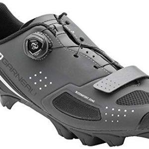 Louis Garneau Men's Granite 2 Mountain Bike MTB Shoes with BOA Adjustment System, Asphalt, US (9.5), EU (43)