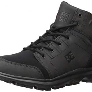 DC Men's Torstein Snow Boot, Black/Black/Black