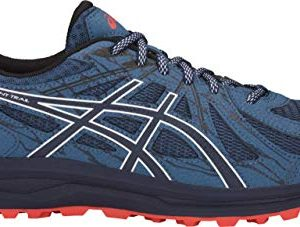 ASICS Frequent Trail Men's Running Shoe, Grand Shark/Black