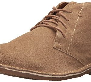 Nunn Bush Men's Galloway Chukka Boot, Beige Suede