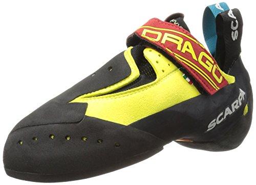 SCARPA Drago Climbing Shoe, Yellow, 40 EU/7.5 D US