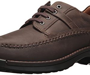 ECCO Men's Fusion Moc Oxford, Coffee