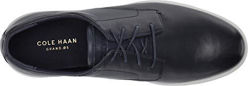 Cole Haan Men's Grand Plus Essex Wedge Oxford, Navy Leather Cole Haan Men's Grand Plus Essex Wedge Oxford, Navy Leather, 10 M US.
