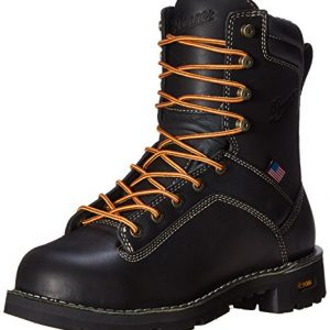 Danner Men's Quarry USA 8-Inch AT Work Boot,Black