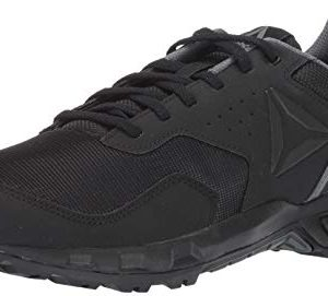 Reebok Men's Ridgerider Trail 4.0, Black/Alloy