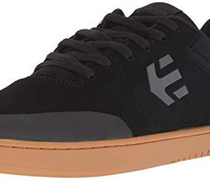 Etnies Men's Marana Skate Shoe, Black/Dark Grey/Gum