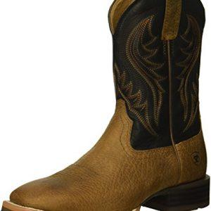 Ariat Men's Hybrid Rancher Western Boot, Earth, 12 D US
