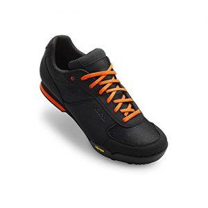 Giro Rumble Vr MTB Shoes Black/Glowing Red 49