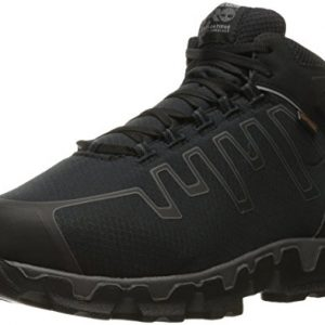 Timberland PRO Men's Powertrain Sport Internal Met Guard Alloy Toe Industrial & Construction Shoe, Black Synthetic, 11 W US