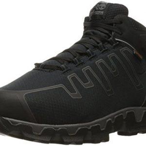 Timberland PRO Men's Powertrain Sport Internal Met Guard Alloy Toe Industrial & Construction Shoe, Black Synthetic, 11 W US