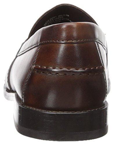 Nunn Bush Men Noah Penny Loafer Dress Casual Slip On Shoe, Brown, 12 Nunn Bush Men Noah Penny Loafer Dress Casual Slip On Shoe, Brown, 12
