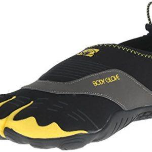 Body Glove Men's 3t Cinch-m Water Shoe, Black/Yellow