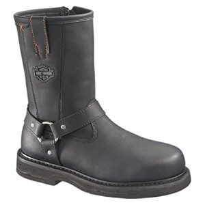 Harley-Davidson Men's Bill Steel Toe Harness Motorcycle Boot