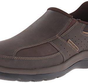 Rockport Men's Get Your Kicks Slip-On Brown Loafer
