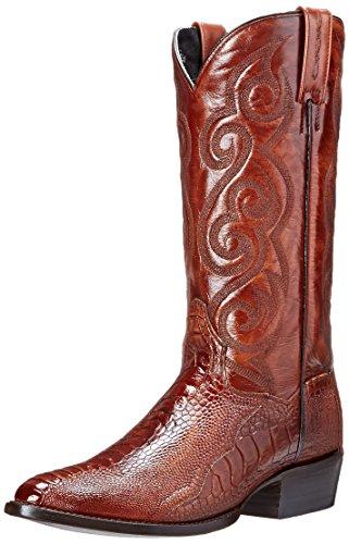 Dan Post Men's Bellevue Western Boot, Antique Tan