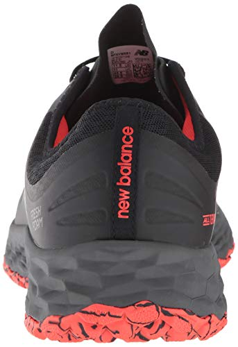 New Balance Men's Kaymin V1 Fresh Foam Trail Running Shoe New Balance Men's Kaymin V1 Fresh Foam Trail Running Shoe, Black/Flame/Reflective, 12 D US.
