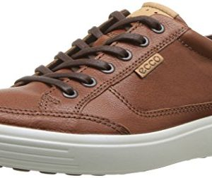ECCO Men's Soft 7 Sneaker, Cognac