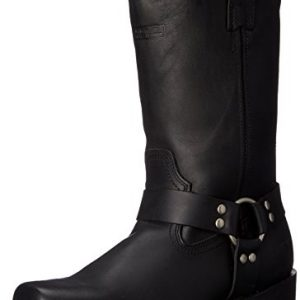 "AdTec Men's 11"" Harness Motorcycle Boot, Black"