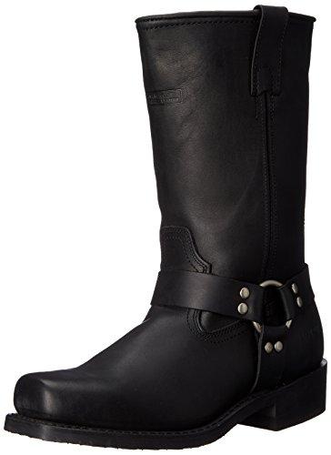 """AdTec Men's 11"""" Harness Motorcycle Boot, Black"""