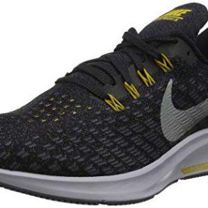 Nike Men's Air Zoom Pegasus Running Shoe Black/Metallic