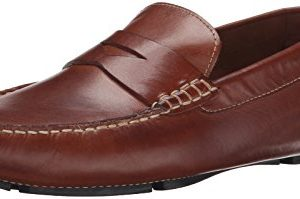 Cole Haan Men's Howland Penny Loafer, Saddle Tan, 11 M US