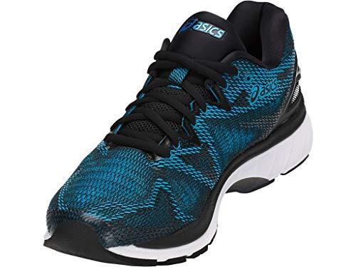 ASICS Men's Gel-Nimbus 20 Running Shoe, Island Blue/White/Black, 11 Medium US ASICS Men's Gel-Nimbus 20 Running Shoe, Island Blue/White/Black, 11 Medium US