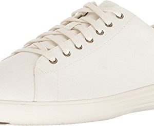 Cole Haan Men's Grand Crosscourt Sneaker Ivory Canvas