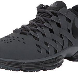Nike Men's Lunar Fingertrap Cross Trainer, Anthracite/Black