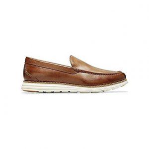 Cole Haan Men's Original Grand Venetian Slip-On Loafer, british tan/ivory, 11 M US